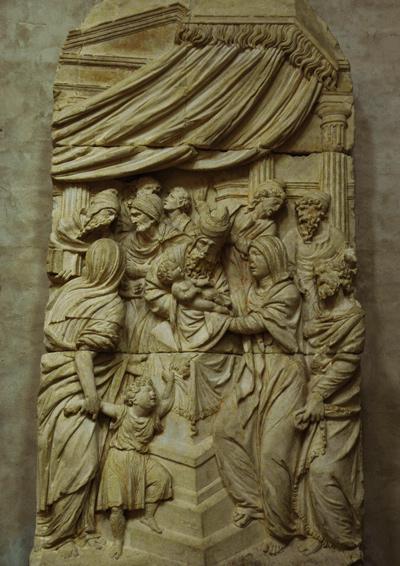 La Présentation au temple. Nicolas Bachelier.