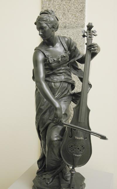 La Musique. Louis Ernest Barrias.