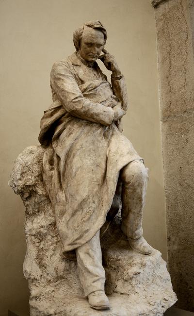 Victor Hugo. Louis Ernest Barrias.