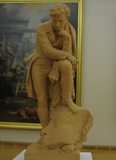 Champollion. Auguste Bartholdi.