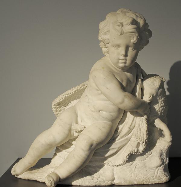 Saint Jean Baptiste. Nicolas Blasset.