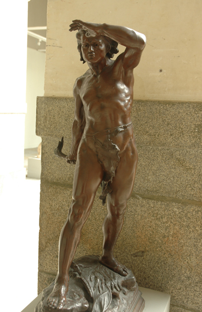 Samson et les philistins. Léon Bonduel.
