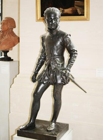 Henri IV enfant. François Joseph Bosio.