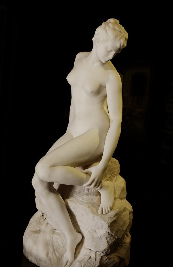 La Baigneuse. Alfred Boucher