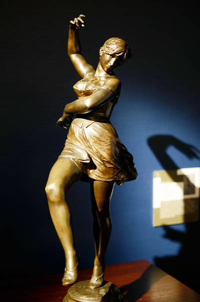 Ballerina. Alfred Boucher.