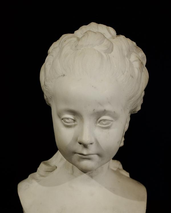 Jeune fille aux anglaises. Alfred Boucher.