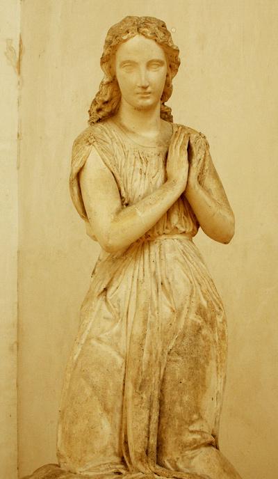 Ange de l'adoration. Théophile Bra