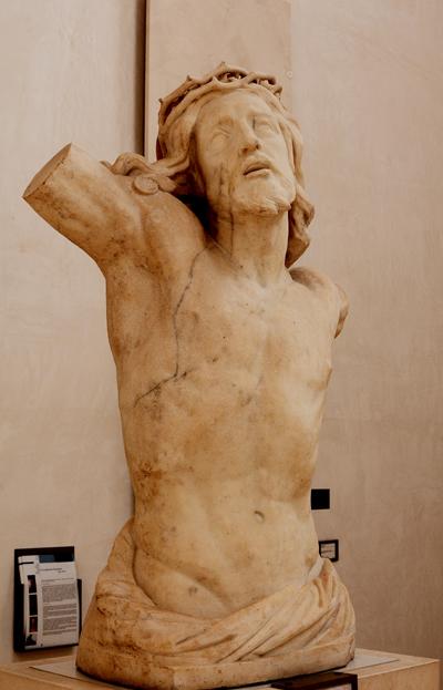 Torse du Christ. Théophile Bra.
