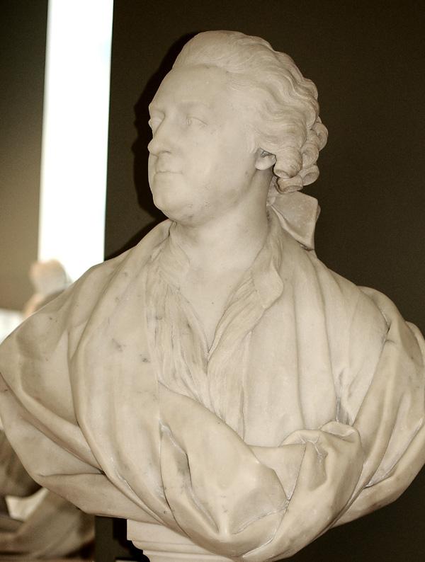 Helvetius. Jean Jacques Caffieri.