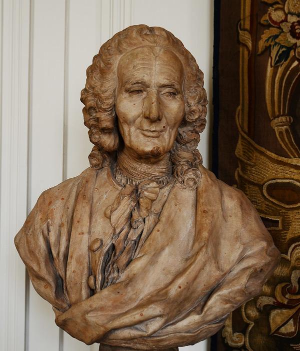 Rameau. Jean Jacques Caffieri.