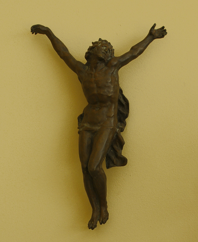 Christ en croix. Jean Baptiste Carpeaux.