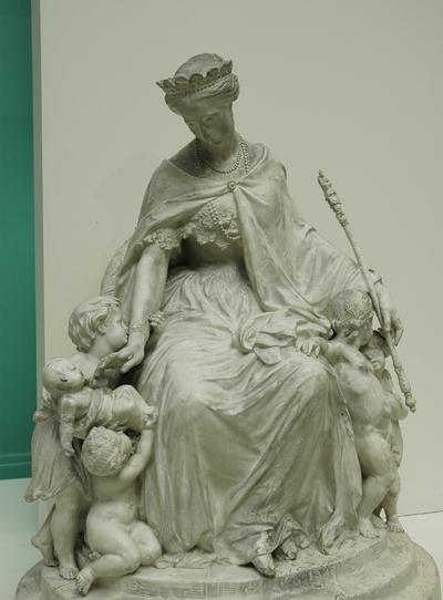 L'impératrice Eugénie. Jean Baptiste Carpeaux.