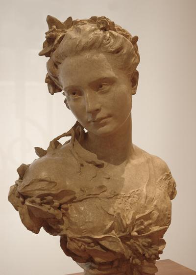 Mme Carpeaux. Jean Baptiste Carpeaux.