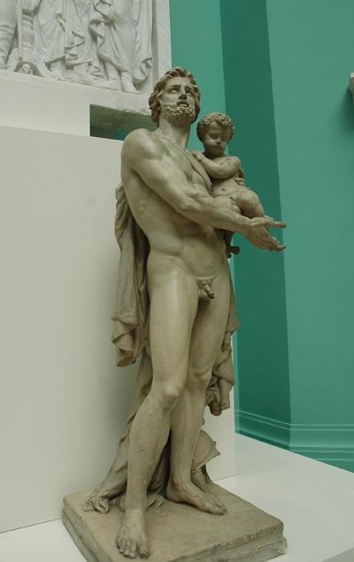 Ulysse implorant les dieux en faveur de son fils. Jean Baptiste Carpeaux.