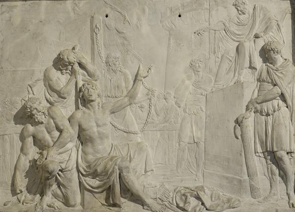 Le Martyre  de Saint Quentin. Célestin Anatole Calmels.