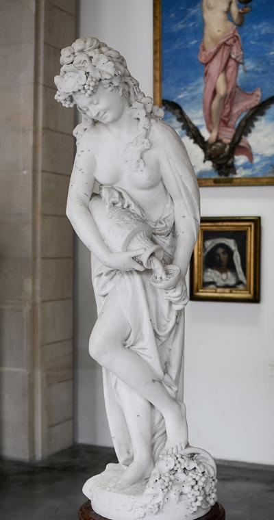 L'Automne. Albert Ernest Carrier Belleuse.
