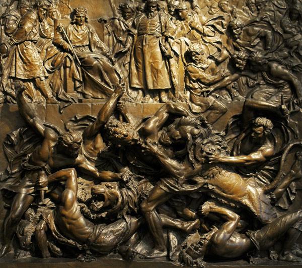 Les arènes d'Arles. Caudron