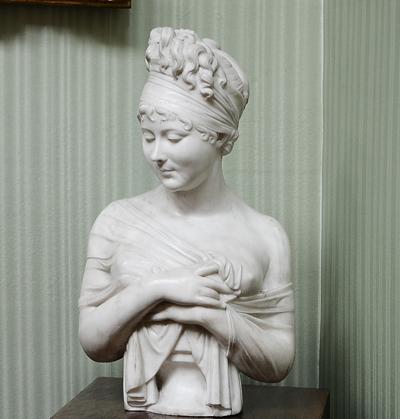 Madame de Récamier. Joseph Chinard.