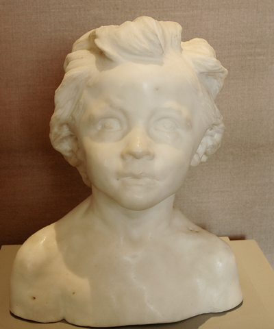 La Petite chatelaine. Camille Claudel.