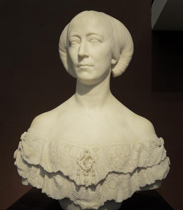 Madame la maréchale Randon. Charles Cordier.