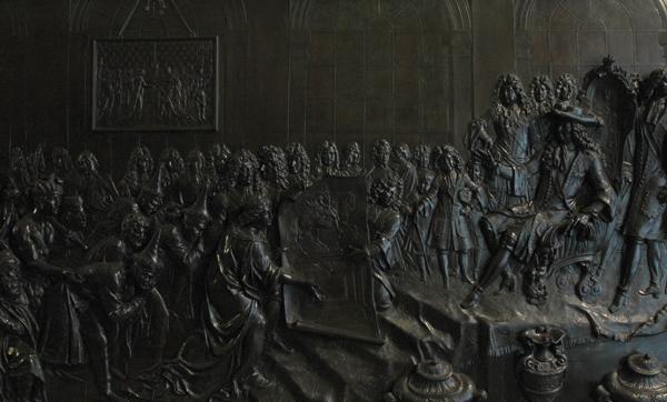 Louis XIV en Bretagne. Antoine Coysevox.