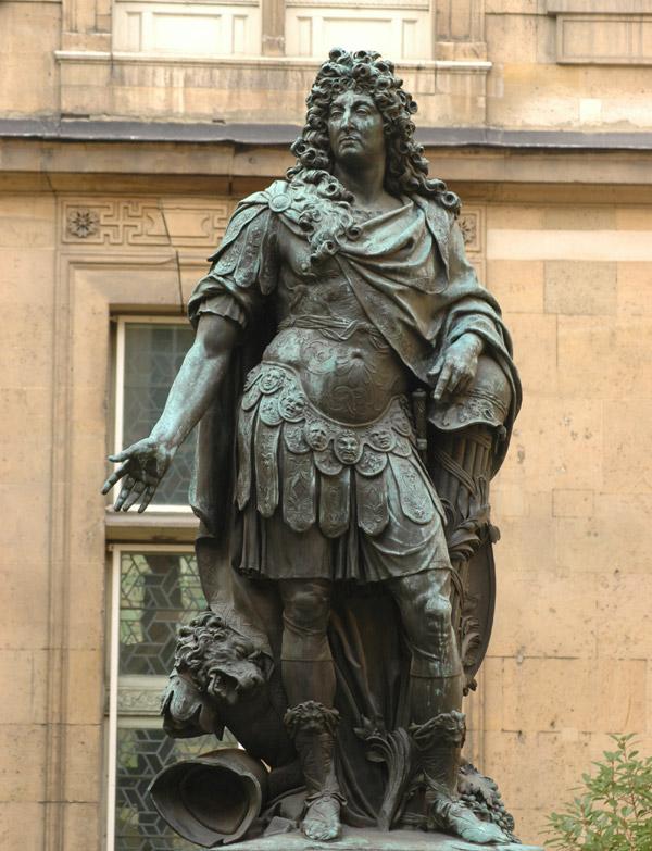 Louis XIV. Antoine Coysevox.
