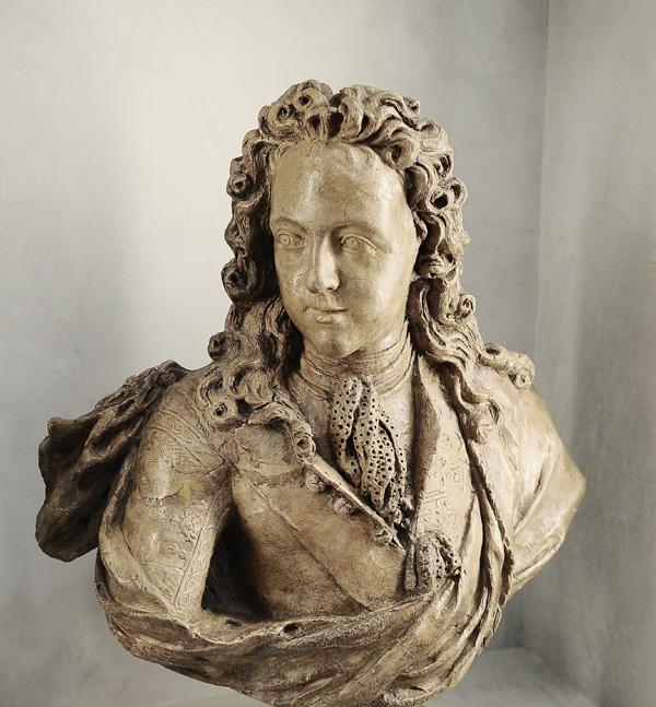 Louis XV enfant. Antoine Coysevox.
