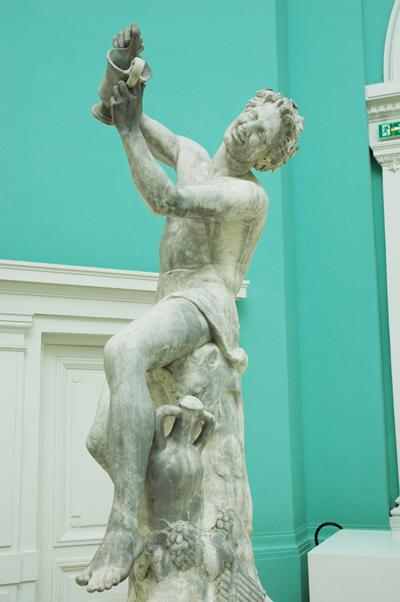 Faune à l'Amphore. Gustave Crauk.