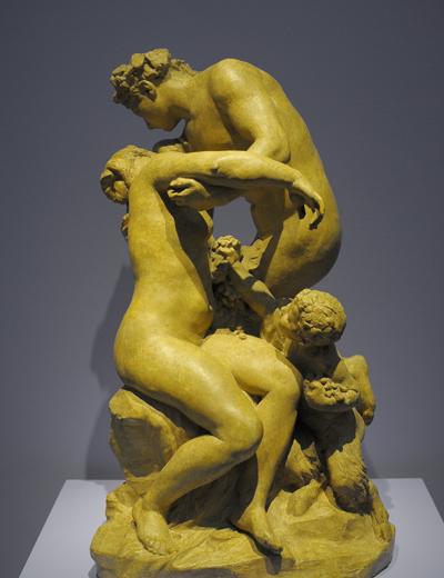 Ariane et Bacchus. Jules Dalou.