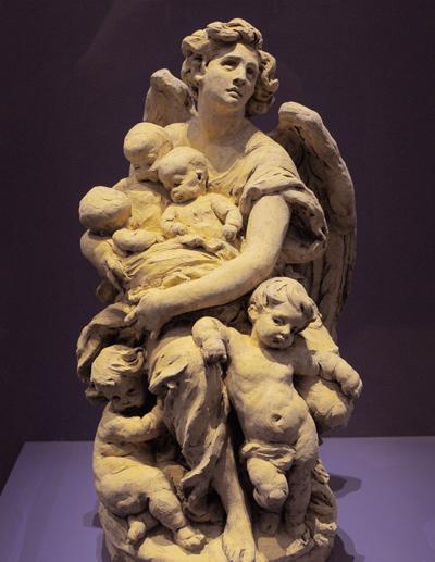 Petits enfants de la reine Victoria. Jules Dalou.