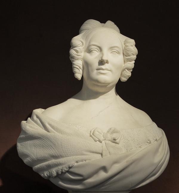 Madame de Mirbel. Antoine Laurent Dantan, aîné
