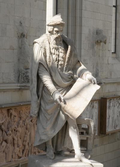 Gutenberg. David d'Angers.
