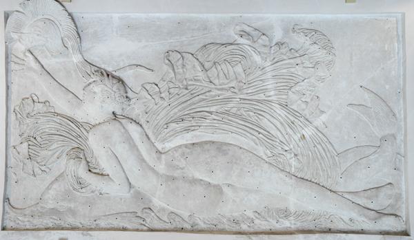 Néréide apportant le casque d'Achille. David d'Angers.