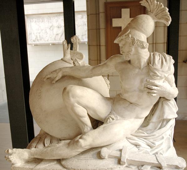 Othryades. David d'Angers.