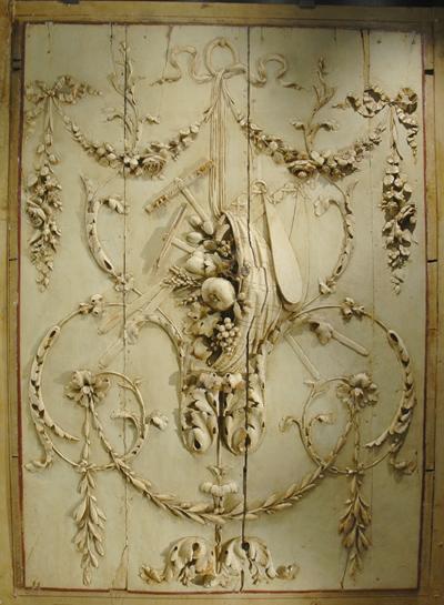 Panneau à décor. Pierre Louis David.