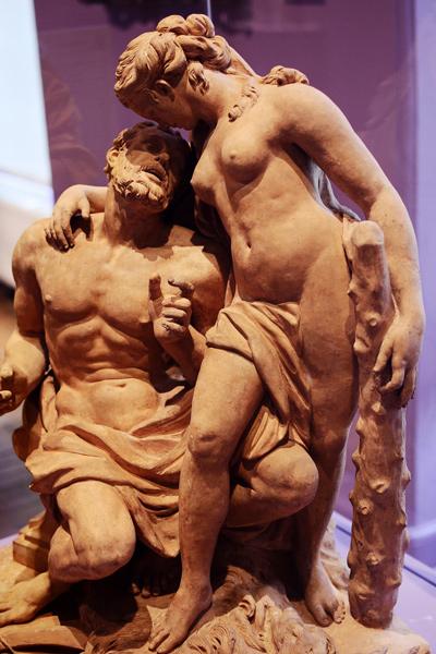 Hercule et Omphale. Philippe Degand.