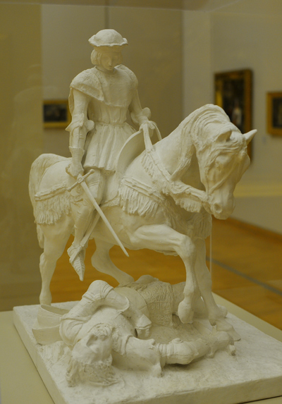 Jeanne d'Arc. Marie d'Orléans.