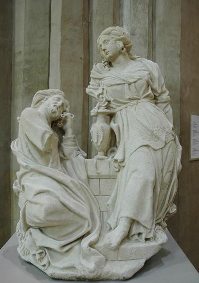 Le Christ et la Samaritaine. Gervais Drouet.