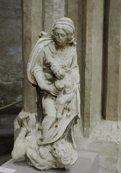 La Vierge et l'Enfant. Gervais Drouet.