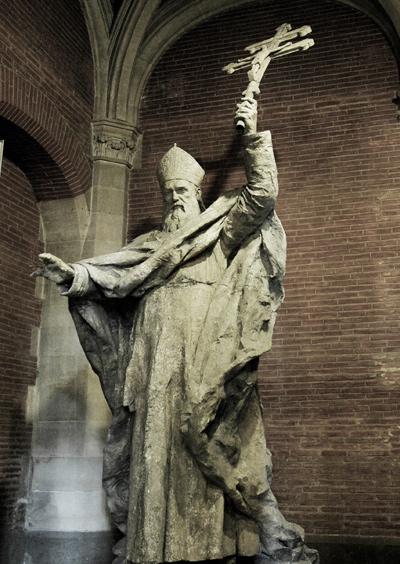 Le Cardinal Lavigerie. Alexandre Falguière.