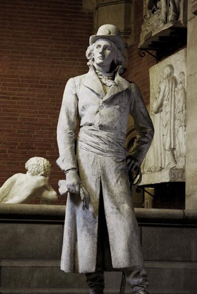 Henri de la Rochejaquelein. Alexandre Falguière.