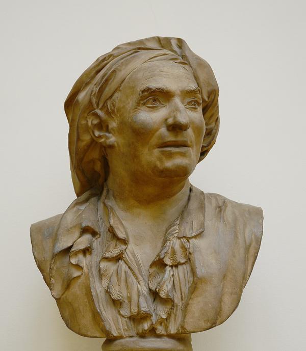 Buste du père de l'artiste. Etienne Pierre Andrien Gois.