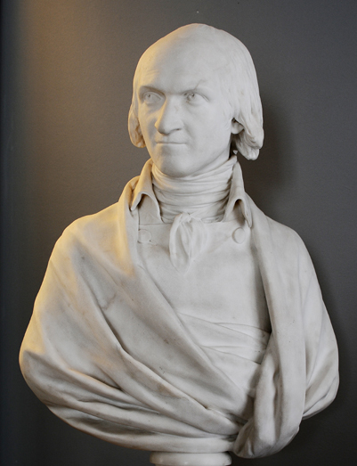 Adrien Duquesnoy. Jean Antoine Houdon.
