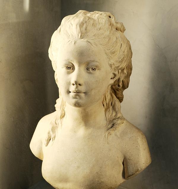 Buste de fillette. Jean Antoine Houdon.