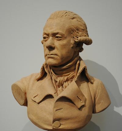 Charles François Dumouriez. Jean Antoine Houdon.
