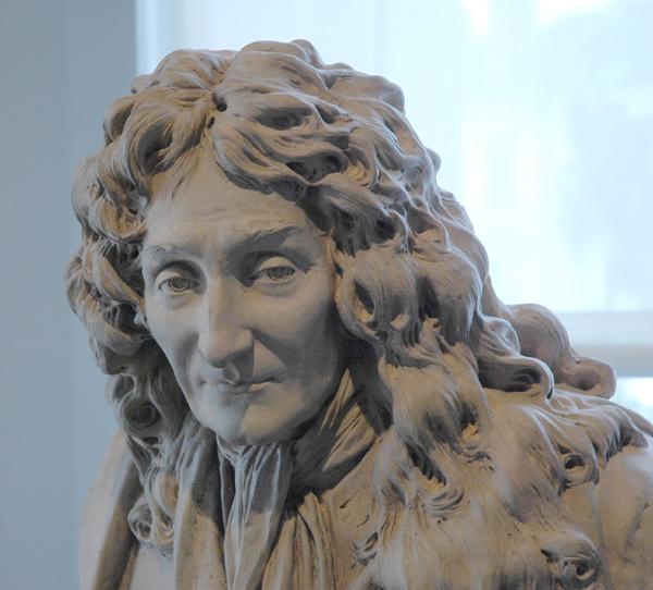 La Fontaine. Jean Antoine Houdon.