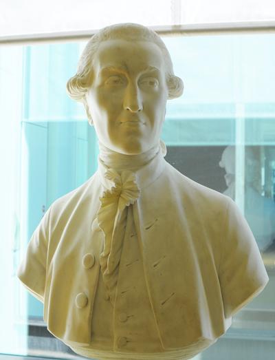 Le marquis de Franquière. Jean Antoine Houdon.