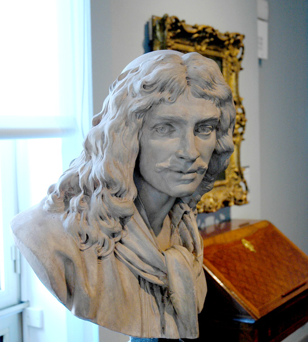 Molière. Jean Antoine Houdon