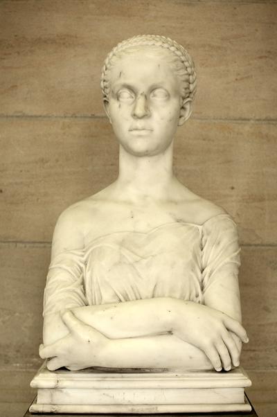 Clélia, jeune romaine. Hector Lemaire.