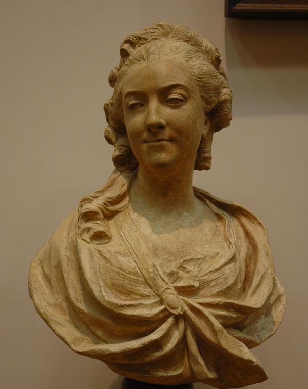 Madame de La Popelière. Jean Baptiste Lemoyne.